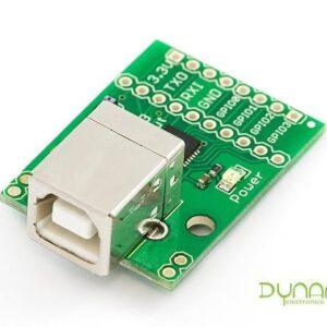 Board USB a Serial con GPIO