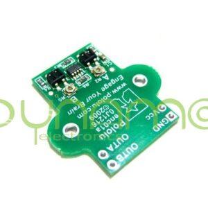 Encoder cuadratura micromotor