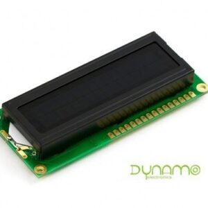 LCD alfanumérica 2x16 azul