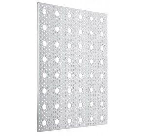 lamina de aluminio perforada 22.8cm x 30.4cm