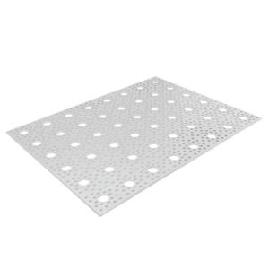 lamina de aluminio perforada