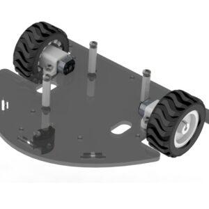Dynabot II : Kit Robot seguidor de línea avanzado Arduino