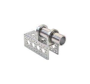 Canal De Aluminio Perforado de 9.54 cm