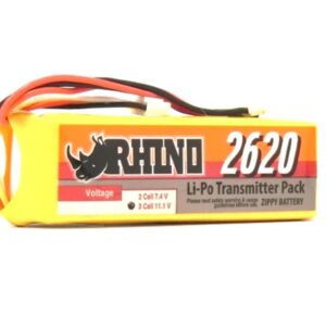 Bateria Lipo 11,1V 2650mAh 2C Rhino