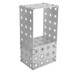 Lamina de aluminio perforada 11.4cm x 30.4cm