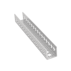 canal aluminio 30cm