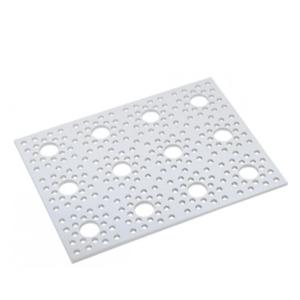 lamina perforada de aluminio