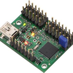 Controlador de servos de 12 canales por USB
