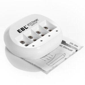 Cargador para baterías de 9V EBL-6F22