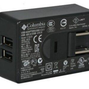 Adaptador de voltaje 5V/2Amp puerto dual USB