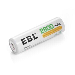 Baterías AA recargable Ni-mh ( 1.2V 2200mAh (par))