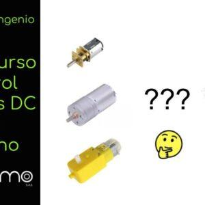 aprende sobre manejo de motor DC con arduino (1.5h)