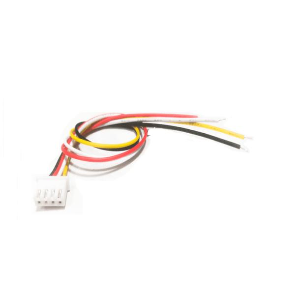 conector 4 pines separación estándar cable