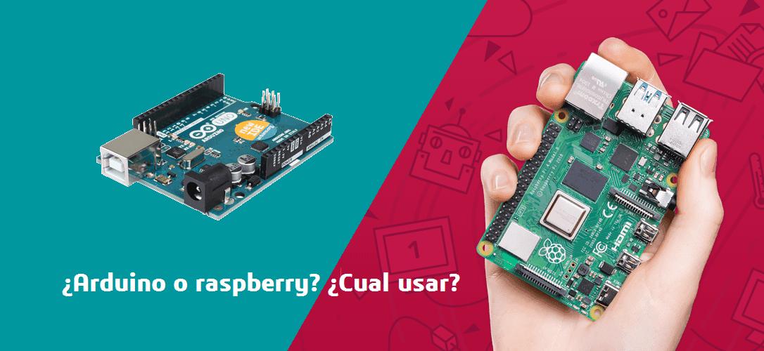 arduino o raspberry diferencias