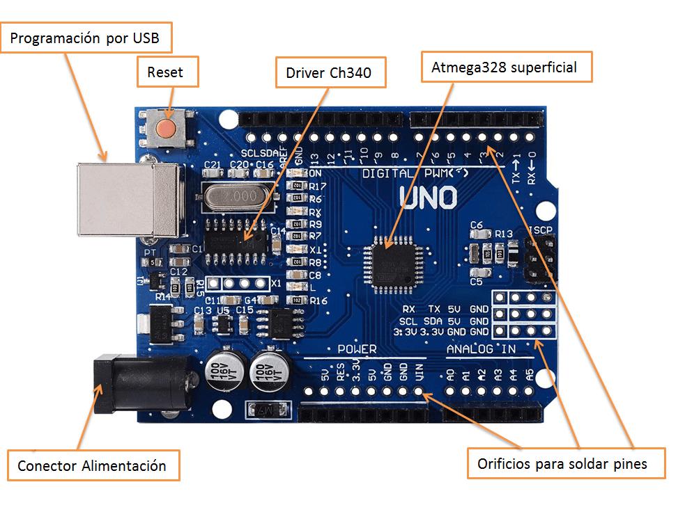 partes arduino compatible