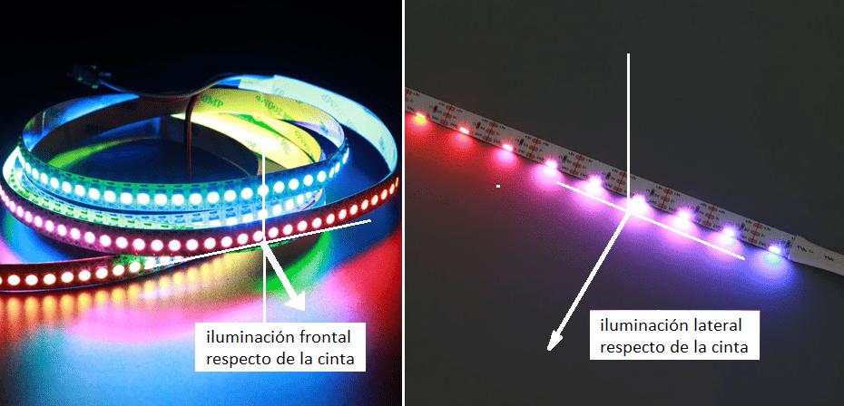 diferencias iluminacion